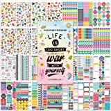 Planner Stickers - 28 Sheets / 1378 Stickers,Stunning Design Accessories Enhance and Simplify Your Planner, Journal and Calen