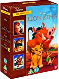 The Lion King 1-3 Box Set DVD