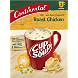 CONTINENTAL Cup-A-Soup | Roast Chicken, 2 pack, 75g