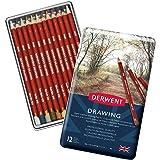 Derwent Drawing Pencils Tin 12