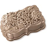 Nordic Ware Wildflower Loaf Pan, One Size, Copper