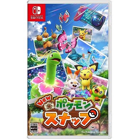 New ポケモンスナップ -Switch (【早期購入特典】スペシャルタグ ラプラス『New ポケモンスナップ』ver…