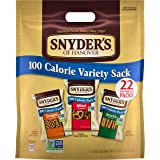 Snyder's of Hanover Pretzels, Variety Pack of 100 Calorie Individual Packs, 22 Ct