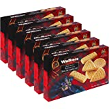 Walkers Shortbread Assorted, Traditional Pure Butter Shortbread Cookies, 8.8 oz. Boxes (6 Boxes)