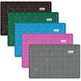 UESTA A3 (18L x 12W Inch) (450 x 300 mm) Self Healing 5 Layers PVC Colorful Cutting Mat (Pink)