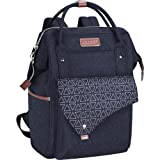 KROSER Laptop Backpack 15.6 Inch Stylish School Computer Backpack Wide Open College Daypack Water-Repellent Travel Business W