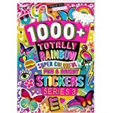 Fashion Angels 1000+ Totally Rainbow Colorful Stickers for Kids - Fun Craft Stickers for Scrapbooks, Planners, Gifts and Rewa