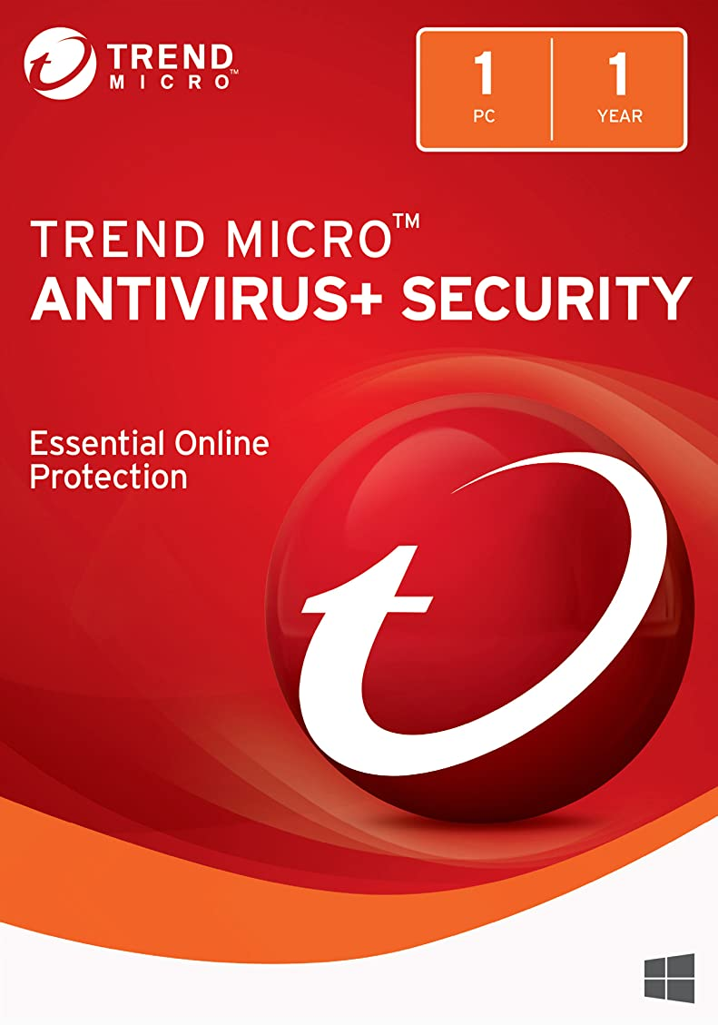 知事寸前集まるTrend Micro AntiVirus+ 2018 (1 Device) [Download]