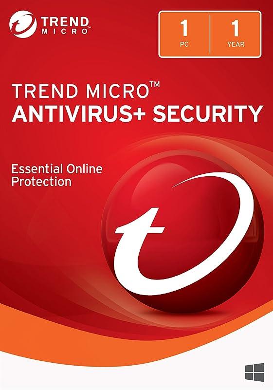 吹雪記念最もTrend Micro AntiVirus+ 2018 (1 Device) [Download]