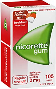 Nicorette Gum Fresh Fruit 2mg 105
