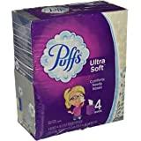 Puffs 2675854 Ultra Soft & Strong Standard Facial Tissues 2-Ply 56 Sheets/Box