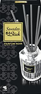 サワデー香るスティック 消臭芳香剤 本体 パルファムノアール 70ml