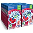 Wyler's Light Singles To Go Powder Packets, Water Drink Mix, Raspberry, 8 Packets per Box, 96 total Packets (Pack of 12)