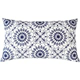 SLOW COW Cotton Linen Embroidery Decorative Lumbar Throw Pillow Cover Pillowcase Set Rectangular Pillow Cover Cushion Cover f