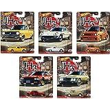 """ホットウィール カーカルチャー 2020 Mix2 アソート10台入り """"Japan Historics3"""" ニッサンスカイライン シルビア サニートラック ホンダ シティターボ マツダ コスモスポーツ各2台 986P-FPY86"""