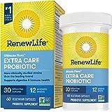 Renew Life Adult Probiotics 30 Billion CFU Guaranteed, 12 Strains, For Men & Women, Shelf Stable, Gluten Dairy & Soy Free, Ul