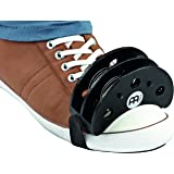 Meinl Percussion Foot Tambourine with Stainless Steel Jingles-NOT MADE IN CHINA-Accompaniment for Cajon Gigs, 2-YEAR WARRANTY