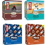 Clif Bar - Energy Bars - Sustain Pack - 24 Full Size and 20 Mini Bars