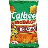 Calbee Big Bag Hot & Spicy Potato Chips
