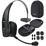 BlueParrott B350-XT BPB-35020 Noise Canceling Bluetooth Headset with 300-FT Wireless Range for iOS, Android, Windows, and Mac