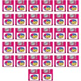 Beistle 53510 90's Floppy Disk Luncheon Napkins 1990's Theme Party Supplies Throwback Retro Computer, 2-Ply, Multicolored