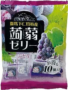 蒟蒻ゼリー(ぶどう)10個入り×12袋