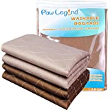 Paw Legend Waterproof Reusable Dog Pee Pads Super Absorbent (2 Pack) - Washable Dog Training Pads | Quality Travel Pee Pads f
