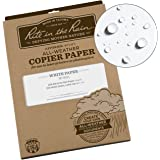 "Rite in the Rain Weatherproof Copier Paper, 8.5"" x 11"", 20# White, 200 Sheet Pack (No. 8511)"
