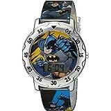 DC Comics Boys' Analog-Quartz Watch with Plastic Strap, Multi, 0.7 (Model: BAT4100)