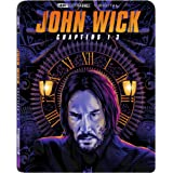 John Wick: Chapters 1-3 [4K + Digital] [Blu-ray]