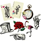 Talking Tables Alice In Wonderland Party Supplies | Party Prop Set | Great For Mad Hatter Tea Party, Birthday Party And Baby