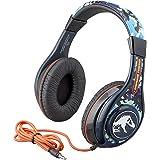 Jurassic World 2 Kids Headphones for Kids Adjustable Stereo Tangle-Free 3.5Mm Jack Wired Cord Over Ear Headset for Children P