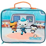 Octonauts Insulated Lunch Sleeve - Reusable School Lunch Box for Kids - Heavy Duty Tote Bag w Mesh Pocket - Rescue Mission