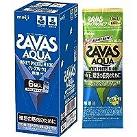 明治 ザバス(SAVAS) アクア ホエイプロテイン100 グレープフルーツ風味 トライアルタイプ 10.5gx6袋