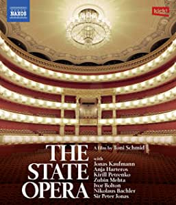 THE STATE OPERA ドキュメンタリー バイエルン国立歌劇場 [Blu-ray Disc, 日本語解説付]