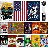 Mogarden 15-Pack Garden Flag Set