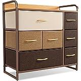CubiCubi Dresser Organizer with 7 Drawer, Furniture Storage Tower Unit for Bedroom Hallway Entryway Closets, Dresser Clothes