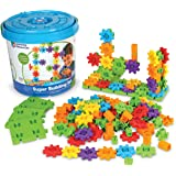 Learning Resources LER9164 Gears! Gears! Gears! Super Building Set (150 Piece),Mini,Multi