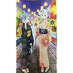 Re:ゼロから始める異世界生活 iPhone8,7,6 Plus 壁紙(1242×2208) エミリア & レム 夏祭りver.