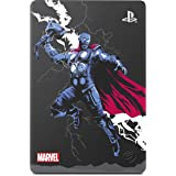 Seagate Game Drive for PS4 Marvel's Avengers LE - Thor 2TB External Hard Drive - USB 3.0, Metallic Grey, Officially Licensed