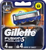 Gillette Fusion ProGlide Power Men's Razor Blades Refill Cartridges, 4 Pack, Mens Razors/Blades