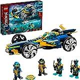 LEGO 71752 NINJAGO Ninja Sub Speeder Building Set, 2in1 Submarine & Car Toy with Cole and Jay Minifigures