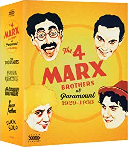 The 4 Marx Brothers At Paramount 1929 - 1933