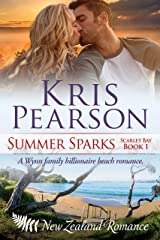 SUMMER SPARKS: Sexy billionaire family beach holiday romance (Scarlet Bay Romance Book 1) Kindle Edition