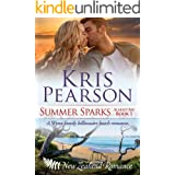 SUMMER SPARKS: Sexy billionaire family beach holiday romance (Scarlet Bay Romance Book 1)