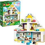 LEGO DUPLO Town Modular Playhouse 10929 Dollhouse with Furniture and a Family, Great Educational Toy for Toddlers