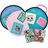 L.O.L. Surprise! 2-in-1 Round Storage Pillow with Secret Compartments