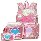 Backpack for Girls 3Pcs Backpacks Set for School Kids Bookbag for Elementary