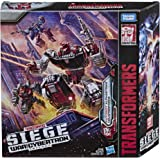 Transformers Toys Generations War for Cybertron Deluxe Wfc-S26 Autobot Alphastrike Counterforce 3 Pack - Final Strike Figure