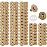 50 Sets of Magnetic snap Buttons for Purse Magnetic Clasp for Bag Closure Magnetic snap Button Replacement Set, Perfect for P